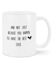YOU HAPPEN TO HAVE THE BEST COCK EVER  Mug front