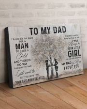 TO MY DAD - POLICE 30x20 Gallery Wrapped Canvas Prints aos-canvas-pgw-30x20-lifestyle-front-07