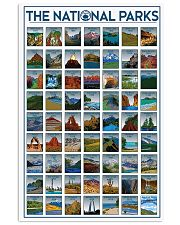 THE NATIONAL PARKS 24x36 Poster front