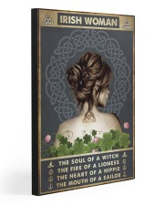 IRISH WOMAN 20x30 Gallery Wrapped Canvas Prints front