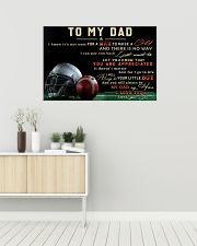 TO MY DAD - MB297 36x24 Poster poster-landscape-36x24-lifestyle-01