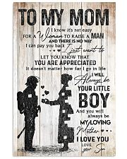 TO MY  MOM - 85T11 Vertical Poster tile