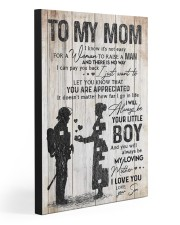 TO MY  MOM - 85T11 20x30 Gallery Wrapped Canvas Prints front
