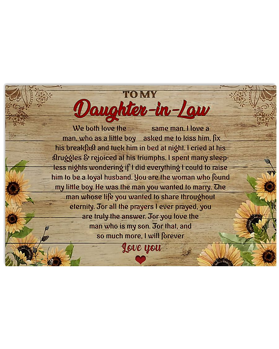 TO MY DAUGHTER-IN-LAW  - MB334 36x24 Poster