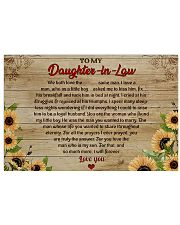 TO MY DAUGHTER-IN-LAW  - MB334 36x24 Poster front