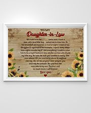 TO MY DAUGHTER-IN-LAW  - MB334 36x24 Poster poster-landscape-36x24-lifestyle-02