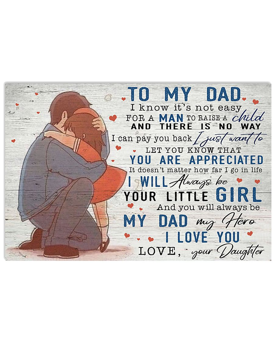 TO MY DAD - MB148 24x16 Poster