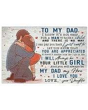 TO MY DAD - MB148 24x16 Poster front