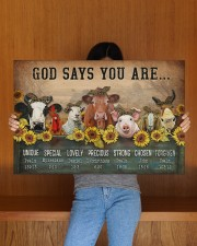 GOD SAYS YOU ARE 30x20 Gallery Wrapped Canvas Prints aos-canvas-pgw-30x20-lifestyle-front-22