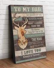 DAD YOU'RE THE GREATEST 20x30 Gallery Wrapped Canvas Prints aos-canvas-pgw-20x30-lifestyle-front-14