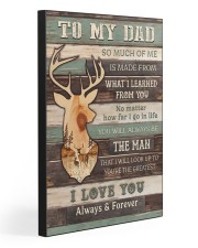 DAD YOU'RE THE GREATEST 20x30 Gallery Wrapped Canvas Prints front