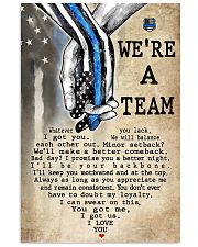 WE'RE A TEAM 11x17 Poster thumbnail