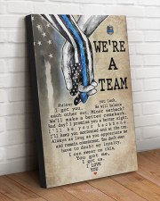 WE'RE A TEAM 20x30 Gallery Wrapped Canvas Prints aos-canvas-pgw-20x30-lifestyle-front-14