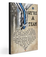 WE'RE A TEAM 20x30 Gallery Wrapped Canvas Prints front