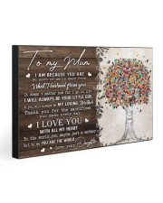 TO MY MUM 30x20 Gallery Wrapped Canvas Prints thumbnail