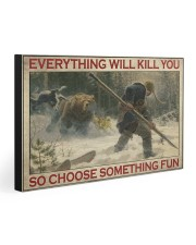 SO CHOOSE SOMETHING FUN 30x20 Gallery Wrapped Canvas Prints front