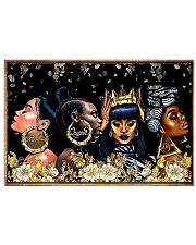 Beautiful Black Women Horizontal Poster tile