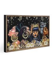 Beautiful Black Women 30x20 Gallery Wrapped Canvas Prints front