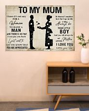 TO MY MUM 36x24 Poster poster-landscape-36x24-lifestyle-22