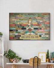 TO MY MOM GOD SAYS YOU ARE 30x20 Gallery Wrapped Canvas Prints aos-canvas-pgw-30x20-lifestyle-front-03