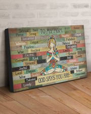 TO MY MOM GOD SAYS YOU ARE 30x20 Gallery Wrapped Canvas Prints aos-canvas-pgw-30x20-lifestyle-front-07