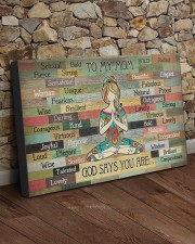 TO MY MOM GOD SAYS YOU ARE 30x20 Gallery Wrapped Canvas Prints aos-canvas-pgw-30x20-lifestyle-front-21