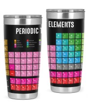 Periodic Table of Elements  20oz Tumbler front
