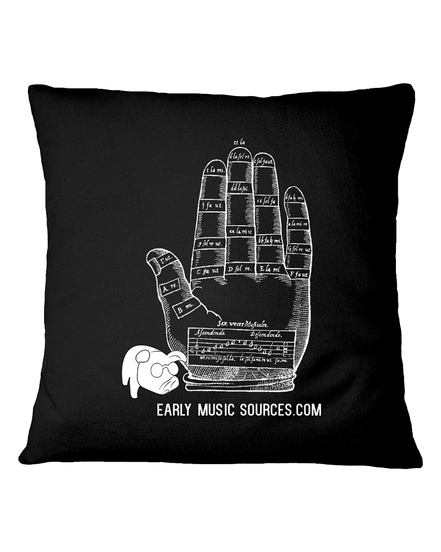 The Guidonian hand on a pillow or a coaster Square Pillowcase