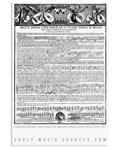 Breve Regola per imparare a sonare sopra il Basso