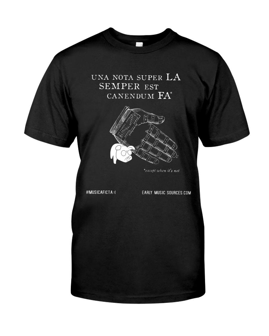 Una nota super la semper est canendum fa Classic T-Shirt
