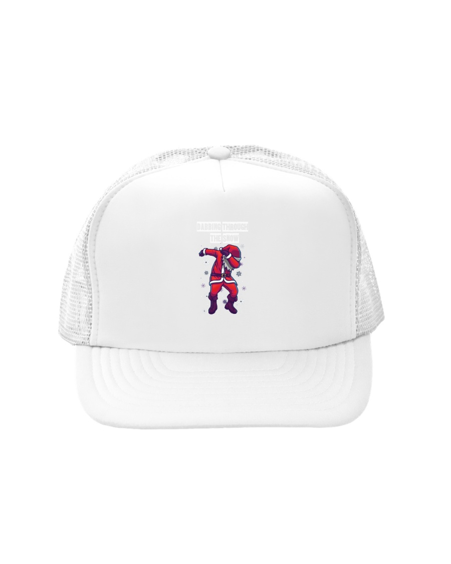 Dabbing through the snow Trucker Hat