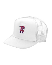 Dabbing through the snow Trucker Hat left-angle