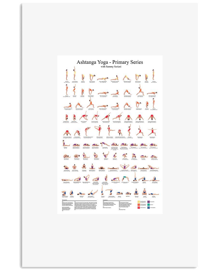 Ashtanga-Yoga 11x17 Poster