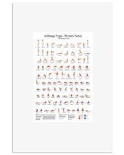 Ashtanga-Yoga 11x17 Poster front