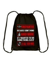 Firefighter - USA Firefighter - Best Firefighter Drawstring Bag thumbnail