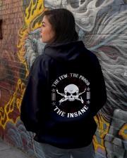 Welder - Best Welder Tshirt -welder hoodie -welder Hooded Sweatshirt lifestyle-unisex-hoodie-back-1
