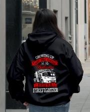 Firefighter - USA Firefighter - Best Firefighter Hooded Sweatshirt lifestyle-unisex-hoodie-back-2