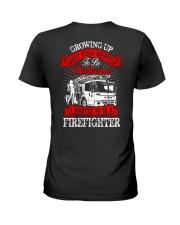 Firefighter - USA Firefighter - Best Firefighter Ladies T-Shirt thumbnail