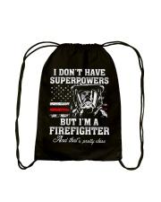 Firefighter - USA Firefighter - Best Firefighter Drawstring Bag thumbnail