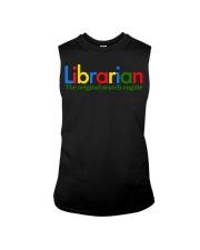 librarian-librarian Tshirt -librarian hoodie Sleeveless Tee thumbnail