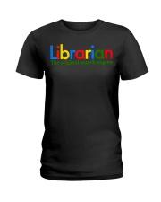 librarian-librarian Tshirt -librarian hoodie Ladies T-Shirt thumbnail