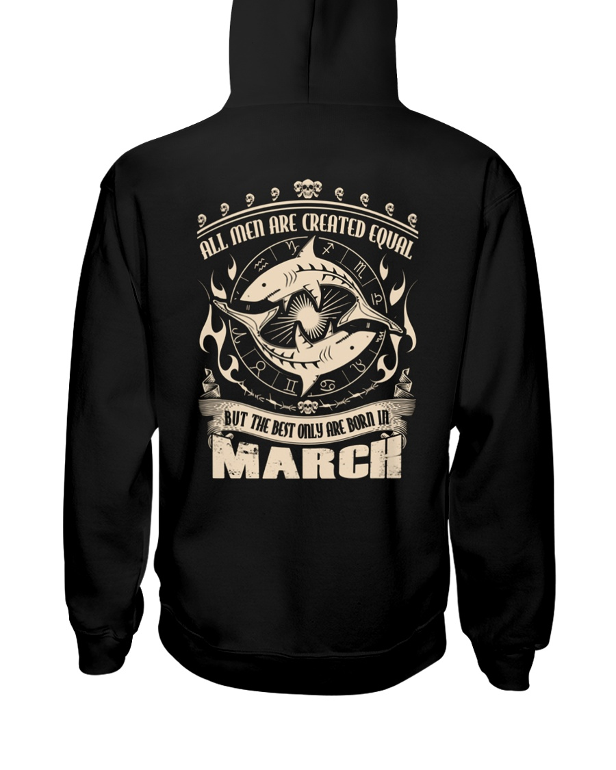 Birthday -March Birthday - Birthday Hoodie Hooded Sweatshirt