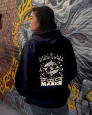 Birthday -March Birthday - Birthday Hoodie Hooded Sweatshirt lifestyle-unisex-hoodie-back-1