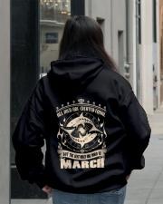 Birthday -March Birthday - Birthday Hoodie Hooded Sweatshirt lifestyle-unisex-hoodie-back-2