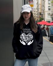 librarian-librarian Tshirt -librarian hoodie Hooded Sweatshirt lifestyle-unisex-hoodie-front-5