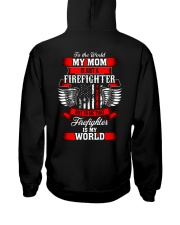 Firefighter - USA Firefighter - Best Firefighter Hooded Sweatshirt back