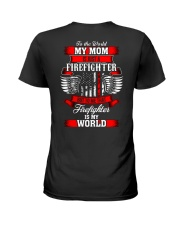 Firefighter - USA Firefighter - Best Firefighter Ladies T-Shirt thumbnail