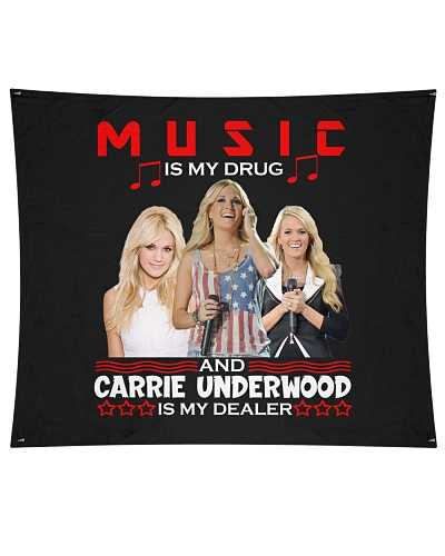 MUSIC IS MY DRUG CARRIE IS MY DEALER