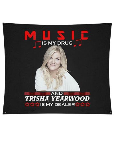 MUSIC IS MY DRUG TRISHA IS MY DEALER