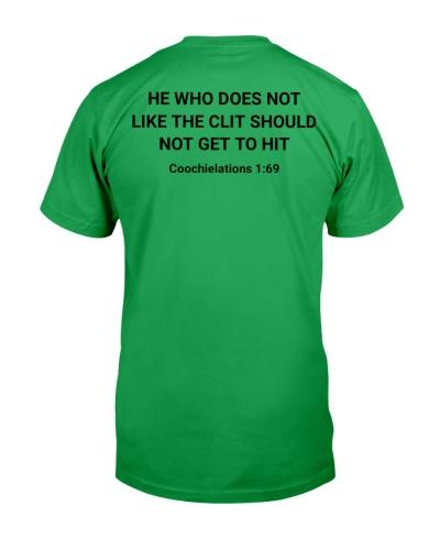 HE WHO dose not shirt